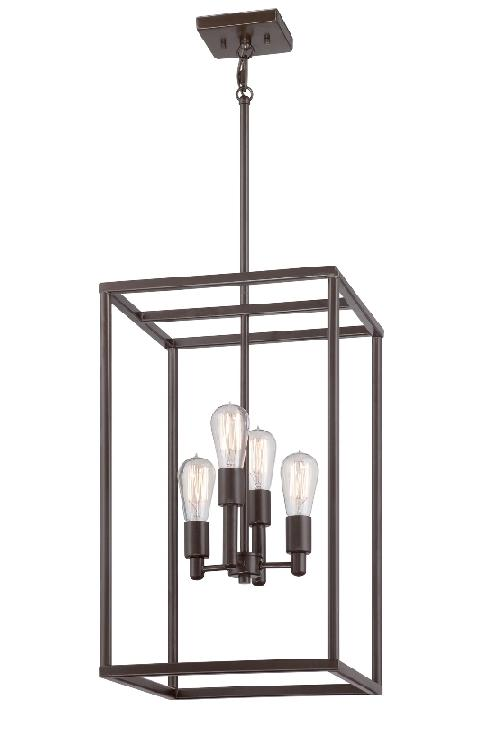 Elstead New Harbor 4 Light Ceiling Light Pendant
